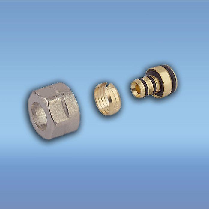 Резьбозажимные соединения и переходники Elsen для теплого пола и металлопластиковых труб